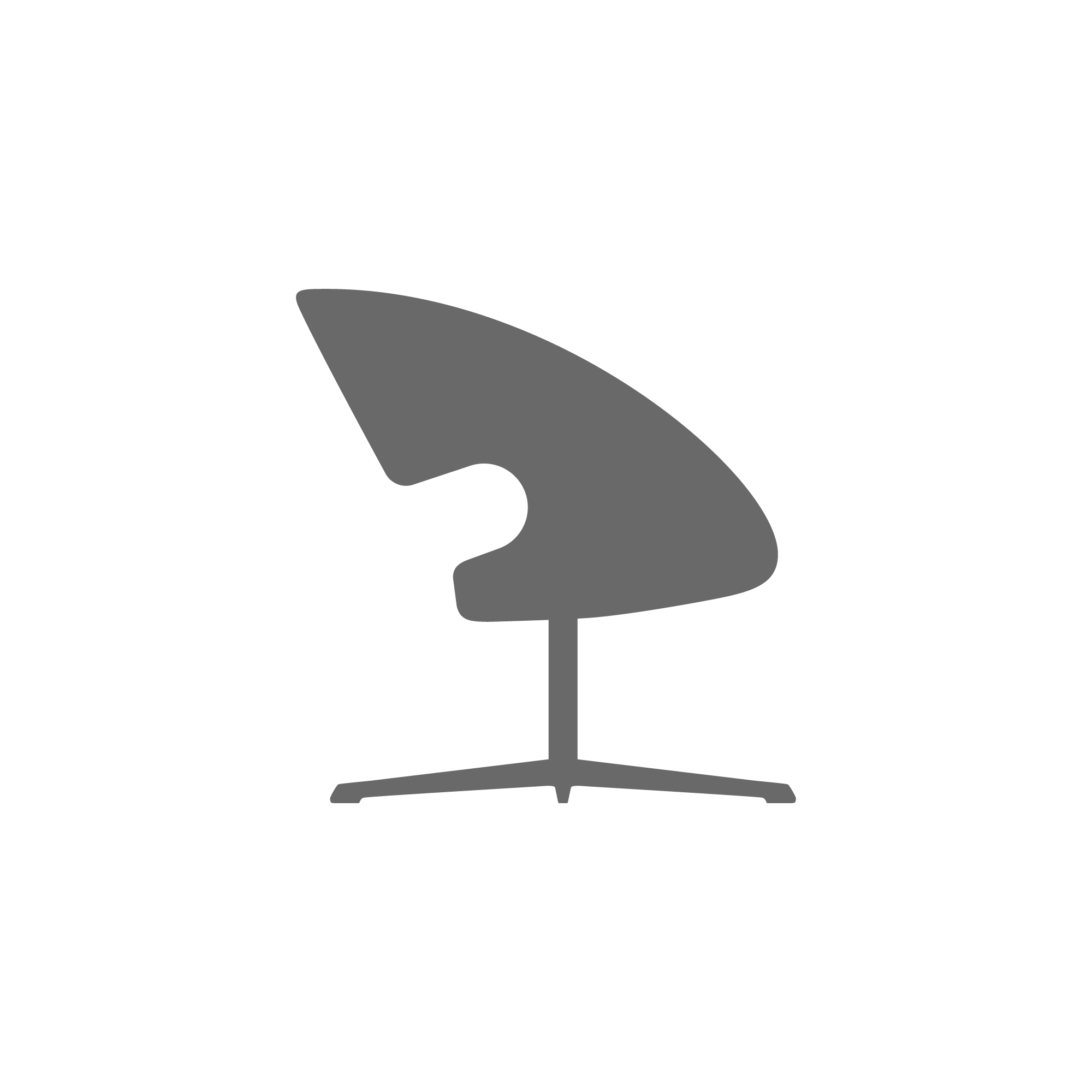 Varier Peel Club Swivel Seat